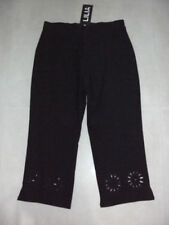 Cotton Solid Stretch Pants for Women