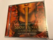 SNOW FLOWER AND THE SECRET FAN (Portman) OOP 2011 Soundtrack Score OST CD SEALED