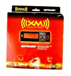 NEW Open Box Sportscaster XM Satellite Radio Receiver W/ Vehicle Kit RVK101A