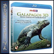 GALAPAGOS 3D - DAVID ATTENBOROUGH *BRAND NEW  BLU-RAY *