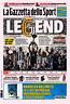 GAZZETTA DELLO SPORT 22/05/2017 JUVENTUS CAMPIONE D'ITALIA SCUDETTO N°35 JUVE