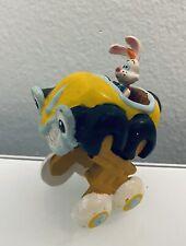 "Vintage 1987, Who Framed Roger Rabbit Benny The Cab Disney Figure Toy Pvc 3"""