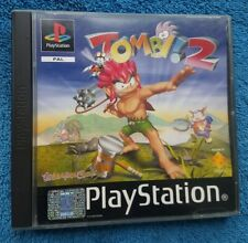 TOMBI 2 - Sony PlayStation 1 - Complete - PAL - Ps1 Game B