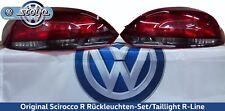 Original VW Scirocco R Rückleuchten-Set/Taillight R-Line Abgedunkelt Nachrüstung