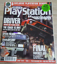 OFFICIAL UK PLAYSTATION MAGAZINE ISSUE NO.44--DRIVER COVER