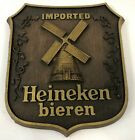 "Vintage 12"" Phase Four Heineken Bieren Beer Man Cave Bar Advertising Wall Plaque"