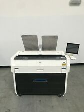Kip 7170 Wide Format Copier Printer Scanner  Only 50K meter reading