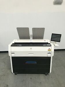 Kip 7170 Wide Format Copier Printer Scanner Only 96K meter reading