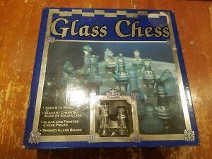 Cardinal Glass Chess Set