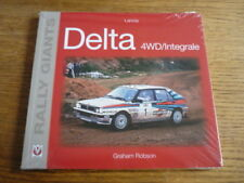 LANCIA DELTA 4WD RALLY GIANTS CAR BOOK
