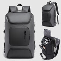 """Charging Port Water Resistant Backpack Day Pack Business 15.6"""" Laptop Bag School"""