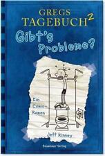 Gibt's Probleme? / Gregs Tagebuch Bd.2 von Jeff Kinney (2008, Gebundene Ausgabe)
