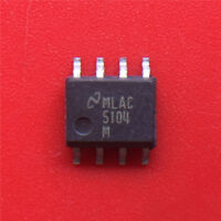 (5PCS)   LM5104M 5104M gate driver SOP-8  NEW