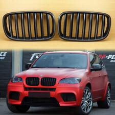 Conjunto De Cromo Capó Parrilla Parrillas Para BMW X5 E70 2007-2013 V2 modelo M Sport Look
