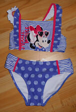 schöner Bikini  Disney Mickey Minnie Mouse   Gr  122 / 128