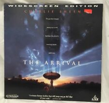 The Arrival (1996) - Laserdisc - Widescreen Extended Edition - Sheen