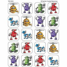 Robots Stickers Teacher Created Resources Tcr5254