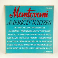 Mantovani American Waltzes Record Album 1962 London Records Easy Listening