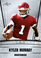 KYLER MURRAY 25 count lot 2019 Leaf SILVER Draft. Rookie Arizona Cardinals  OK