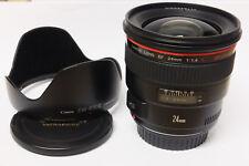 Canon EF 1,4/24 mm L USM lente para Canon EOS usado