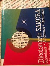 Diccionario Zamora Sinonimos, Antonimos, Paronimos e Ideas afines