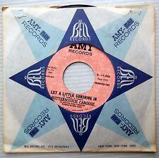BUTTERSCOTCH CABOOSE sunshine pop psych 45 PROMO Let A Little ... in Melinda e71