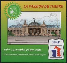 TIMBRE FRANCE BLOC FFAP n°2 NEUF** 81° Congrès a PARIS 2008