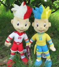 EURO 2012 POLAND - UKRAINE UEFA MASCOT SLAVEK & SLAWKO OFFICIAL LICENSED PRODUCT