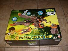 BEN 10 Ultimate Alien Vilgax Battle Ship Figure Playset (Bandai) NEW MISB Sealed