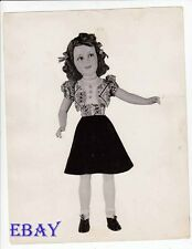 Deanna Durbin doll VINTAGE Photo