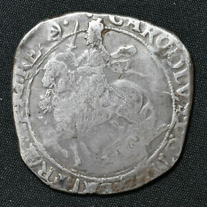 Charles I, 1625-49, Halfcrown, Tower Mint, mm Triangle In Circle, S2779, N2214