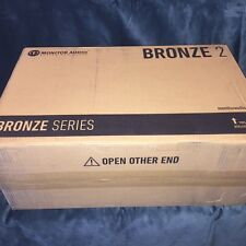 BRANDNEW Monitor Audio Bronze 2 Bookshelf Speakers (PAIR) (BLACK/WHITE)