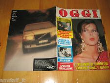 OGGI 1987/4=CAROLINE DE MONACO=DALIDA=FRANCO NERO=SIMONA MARCHINI=PATRIZIO OLIVA