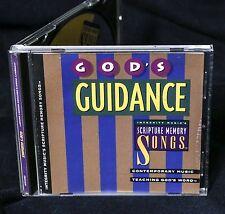 HOSANNA SCRIPTURE MEMORY SONGS God's Guidance 1993 CD PRAISE WORSHIP RARE