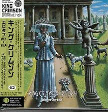 KING CRIMSON JAPAN MINI ABSENT LOVERS 2 HDCD +COLLECTORS K.C. SAMPLER VOL. 3