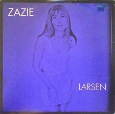 ZAZIE - LARSEN (RARE FR. PRESSING PROMO COPIE 1 TRK 1 MAXI-CD CARD SLEEVE)
