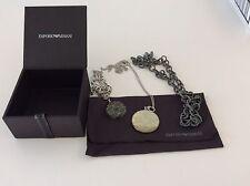 Emporio Armani Bracelet Necklace Charm Box Set Jewelry Collection New