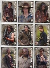 Walking Dead Season 6 Complete Character Chase Card Set C1-20