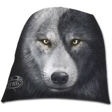 Espiral Wolf Chi-Light Cotton Beanie-Negro