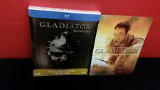 GLADIATOR - Embossed BLURAY STEELBOOK + 3D Lenticular Magnetic Cover / Magnet