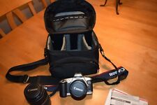 Canon EOS 500N Rebel G Film Camera  Complete Kit/2 Zoom Lens & Case