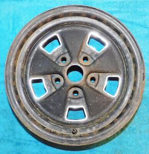 """1969 1970 Mercury Cougar Xr7 Eliminator ORIG 14"""" x 6"""" STYLED STEEL WHEEL w/ TRIM"""