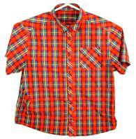 Mountain Hardwear Mens Short Sleeve Hiking Button Up Shirt Size XL