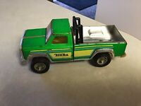 Vintage Pressed Steel Mini Tonka Pickup Truck Green