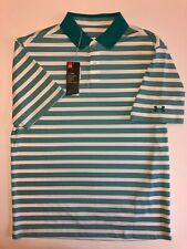 Under Armour New Performance Impact Stripe Golf Polo Men's Size Large 806