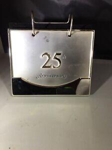 25th wedding anniversary Standup Photo Album