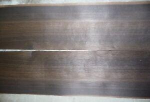 "quartered fumed oak wood veneer 1/42"" 11.5""x44"""