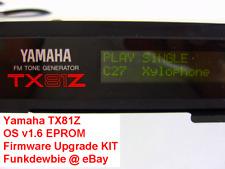 Yamaha TX81Z OS v1.6 EPROM Firmware Upgrade KIT / New ROM Final Update Chip