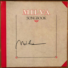 Milva - songbook vinyl LP signiert autogramm signed autographed