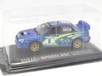 Prensa Ixo 1/43 - Subaru Impreza WRC Nueva Zealand Rally 2003